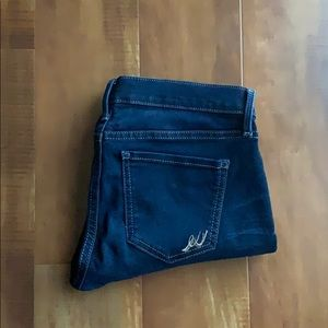 Express Cropped Jean leggings - size 6